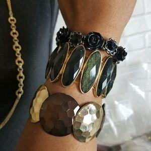 Cute Elastic Stretch Bracelet Bundle